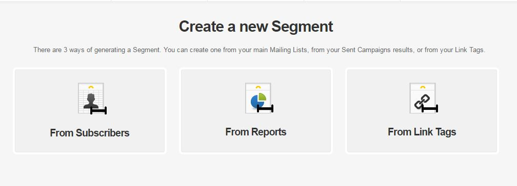 How to create a Segment from Link Tags