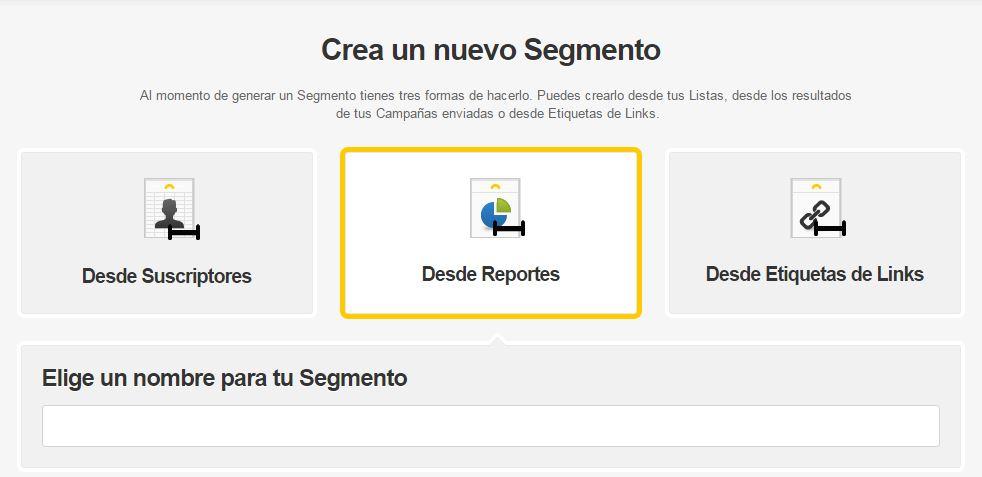 Cómo segmentar tu Campaña de Email Marketing desde Reportes