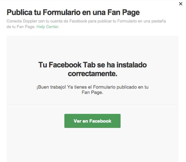 Instalar Facebook Tab