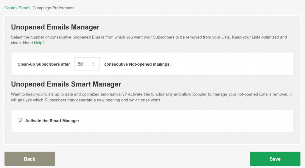 Activate Smart Manager