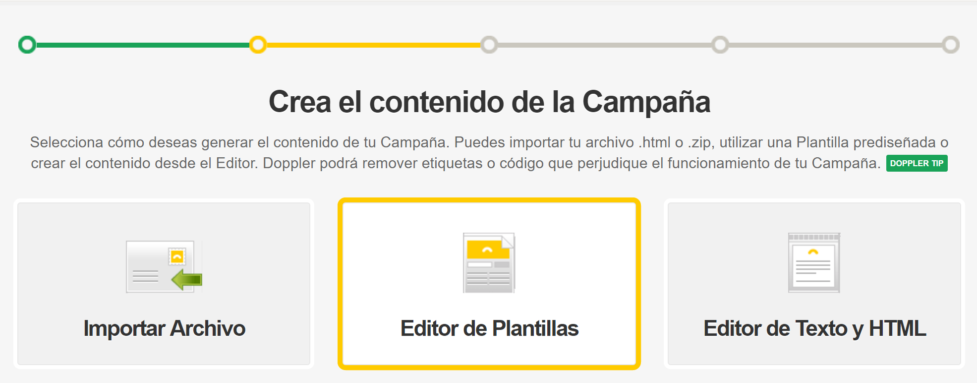 Cómo incorporar un video a tu Campaña de Email Marketing - Doppler ...