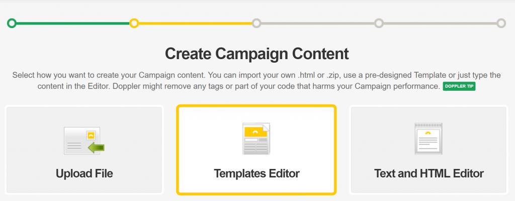 Templates Editor