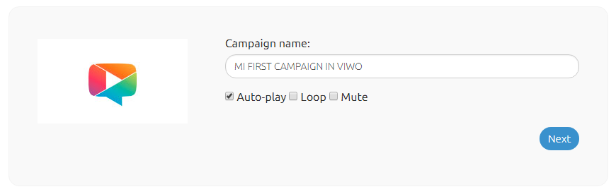Name your Campaign.