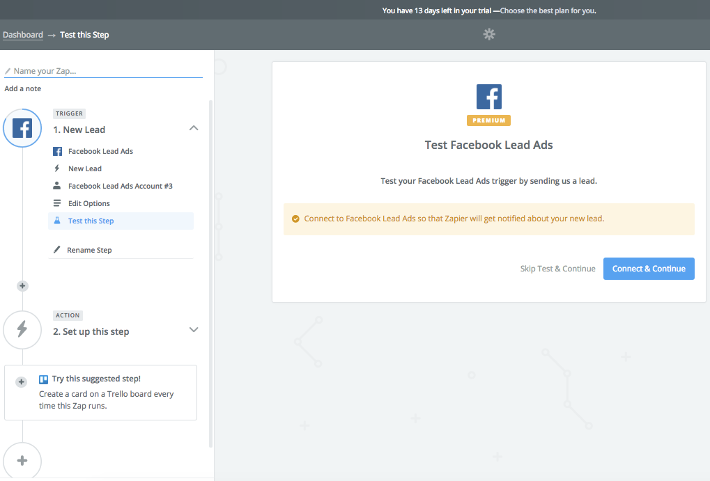 Integración Doppler- Facebook Lead Ads - Test
