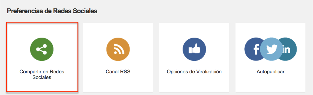 Compartir en WhatsApp: Preferencias de redes sociales