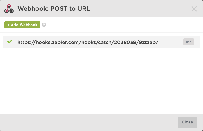 Integrar Doppler con Unbounce: Webhook
