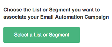 Choose List or Segment