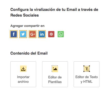 Definir contenido del Email