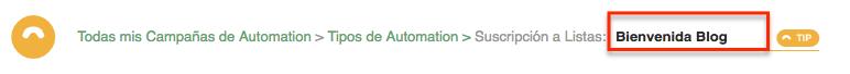 Definir nombre de Automation por Suscripción