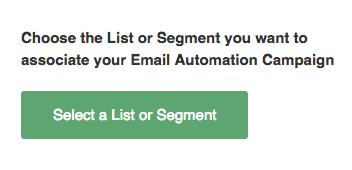 Select a List or Segment