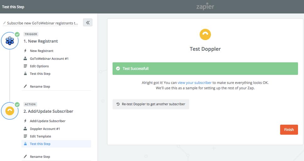 Doppler account Test