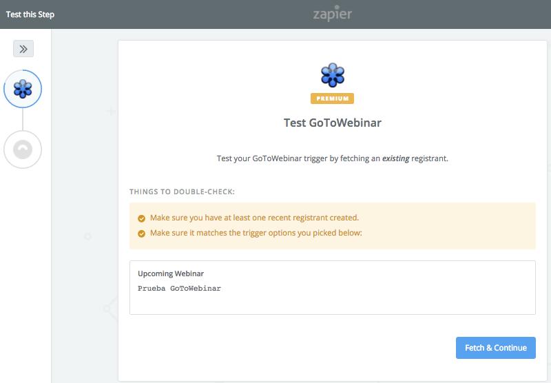 Test the Webinar