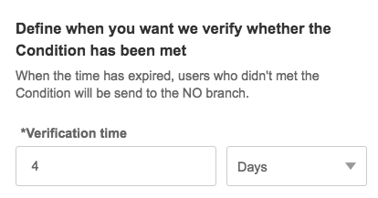 Verification time