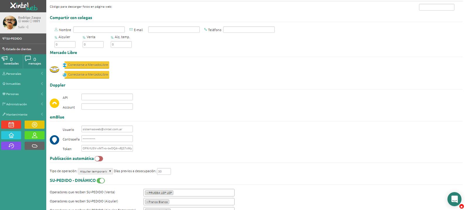 """Ingresa tu """"Usuario"""" y """"API Key""""."""