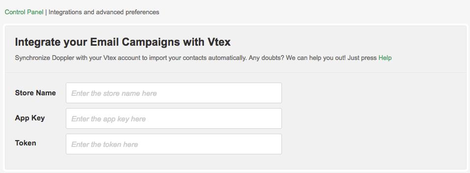 Vtex data to complete in Doppler