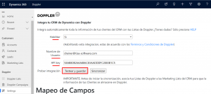 integrar doppler con dynamics testear conexion